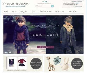 French Blossom : mode enfant originale et chic